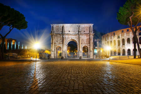 Photo pour Arch of Constantine - image libre de droit