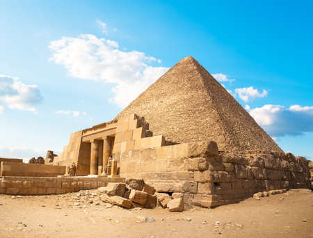 Photo for Ruins in Giza - Royalty Free Image