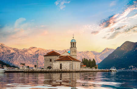 Foto de Church Our Lady in Perast - Imagen libre de derechos