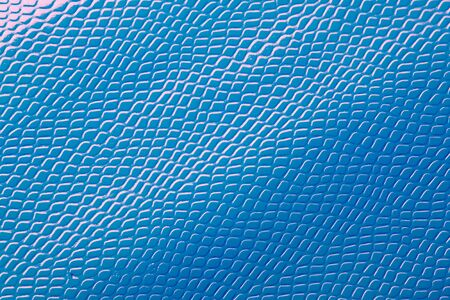 Photo for Light bright blue natural leather skin texture. - Royalty Free Image