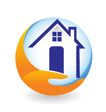 House icon illustration for company