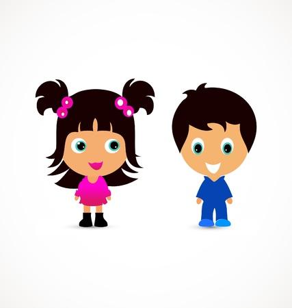 Foto per Little children illustration creative design - Immagine Royalty Free