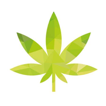 Ilustración de weed icon - Imagen libre de derechos