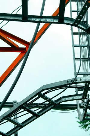 Foto de Steel frame - Imagen libre de derechos