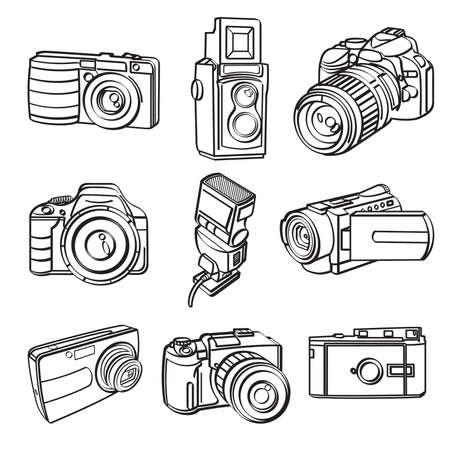 Illustration pour Digital Products Collection - image libre de droit