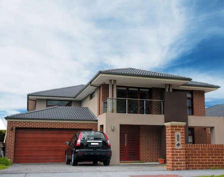 Photo pour typical Australian house. Melbourne,Australia - image libre de droit