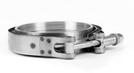 Foto de Sport car fabrication parts on white - Imagen libre de derechos