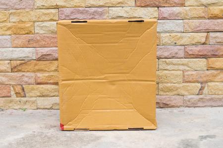 Foto de cardboard box texture - Imagen libre de derechos
