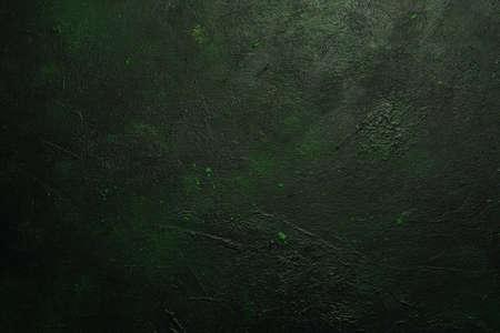 Foto de Grain dark green abstract background design texture - Imagen libre de derechos