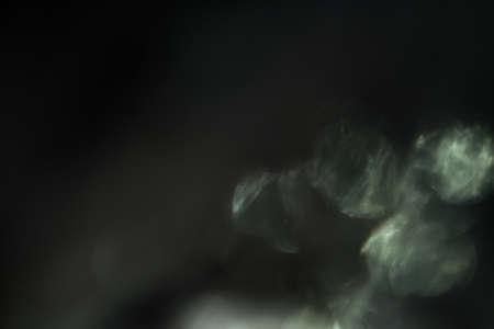 Photo for Real Lens Flare Shot in Studio on Black Background. flash leak beam. Optical effect of spotlight - Royalty Free Image