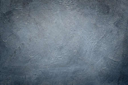 Photo for abstract art blue grey textured background. distressed dark scratched design. dark edges vignette. free space concept - Royalty Free Image