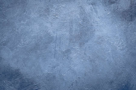 Photo pour abstract art blue textured background design. distressed dark grey scratched rough backdrop. copy space concept - image libre de droit