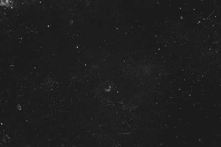 Photo pour Dust and scratches design. Black abstract background. Vintage effect. Copy space. - image libre de droit