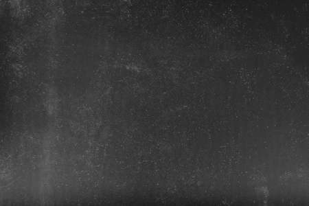 Foto de Scaratched effect overlay. Abstract background. White dust over gray surface. Empty space. - Imagen libre de derechos