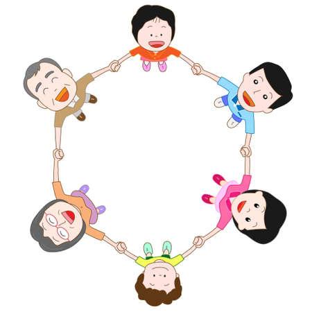 Illustration pour family - image libre de droit