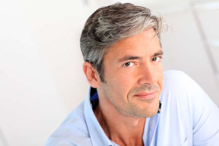 Photo for Portrait of handsome 40-year-old man - Royalty Free Image