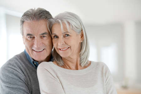 Photo for Portrait of senior couple at home - Royalty Free Image