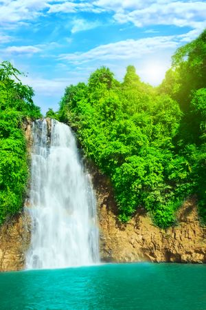 Photo for Bobla waterfall in central highland of Vietnam - Royalty Free Image