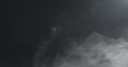Photo for vapor steam over black background - Royalty Free Image