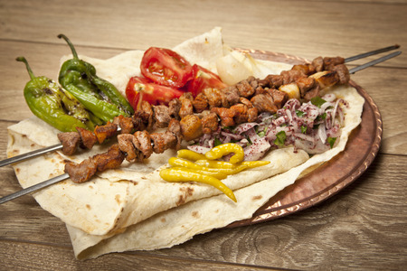 Photo for Turkish Sis Kebab - Royalty Free Image