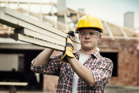 Photo pour Construction Worker - image libre de droit