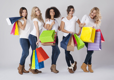 Photo for Every women like shopping time - Royalty Free Image