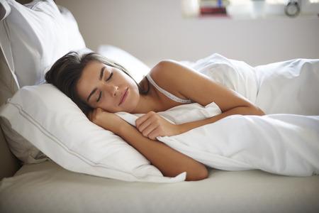Photo pour My bed is my the best friend - image libre de droit