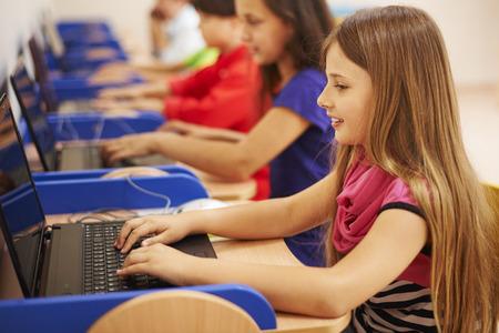 Foto de She is a prefect students - Imagen libre de derechos