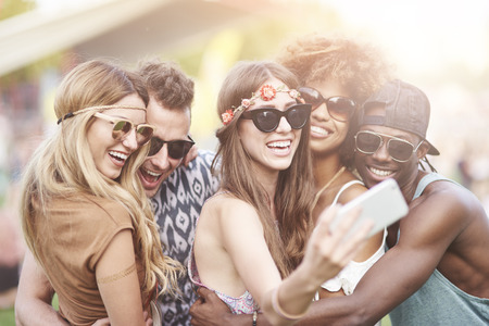 Photo for Can we take a selfie first - Royalty Free Image