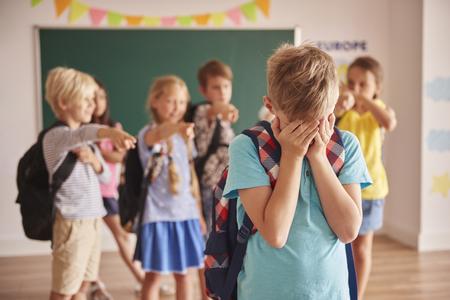 Foto de Picture showing children violence  at school - Imagen libre de derechos