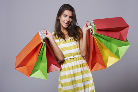 Photo for Great happiness after good shopping - Royalty Free Image