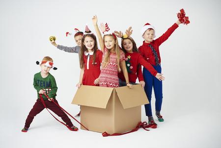 Foto de We are ready to celebrate christmas  - Imagen libre de derechos