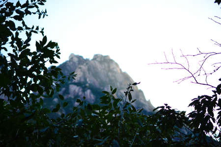 Foto de Huangshan yellow mountain in Anhui, China. - Imagen libre de derechos