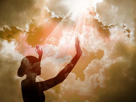 Foto de Praise The Lord                           - Imagen libre de derechos