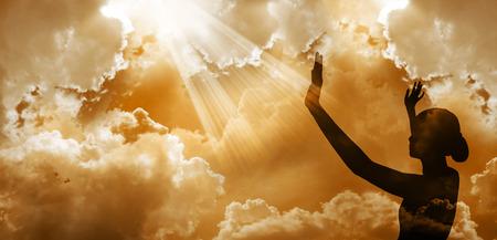 Foto de Praising God - Imagen libre de derechos