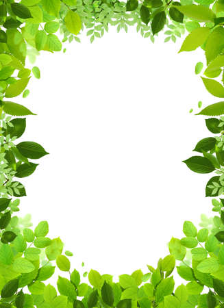 Natural design template.Naturel heart frame.Beautiful frame