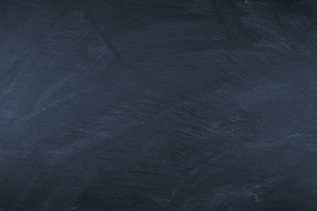 Photo for empty wiped slate board - Royalty Free Image