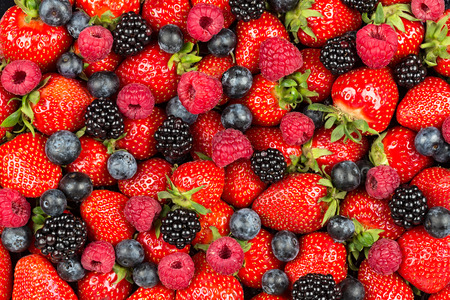 Photo for a variation of  berry fruits - Royalty Free Image