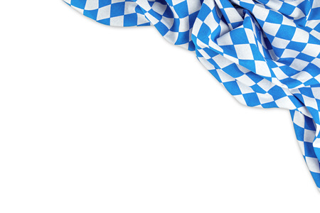 Foto de bavarian flag isolated on white background - Imagen libre de derechos