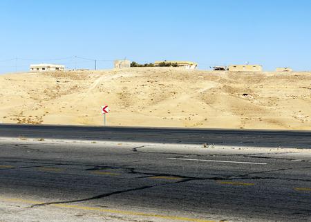 Photo for Desert of Shobak in Jordan - Royalty Free Image
