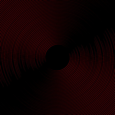 Illustration pour Abstract moderv background with sound wave - image libre de droit