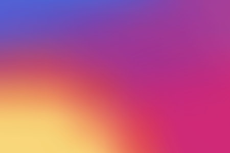 Ilustración de Colorful smooth gradient color Background design for your project design.  - Imagen libre de derechos