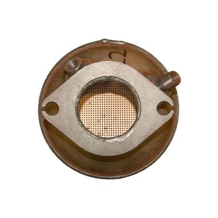 Photo pour Diesel particulate filter outside - image libre de droit