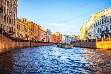 Foto de Moyka River in Saint Petersburg, Russia - Imagen libre de derechos