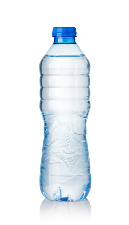 Foto de water bottles isolated on white background - Imagen libre de derechos