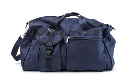 Foto de travel bag on a white background - Imagen libre de derechos