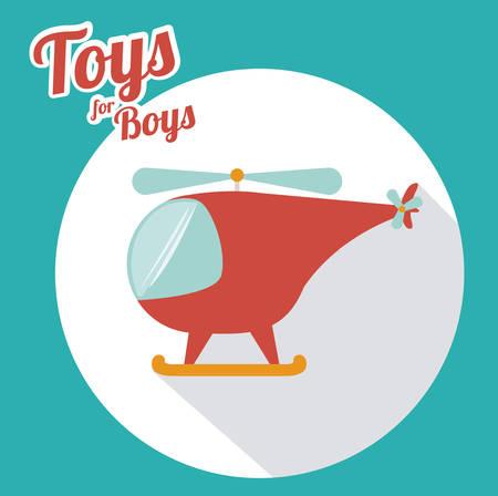 Illustration pour Toys design, vector illustration - image libre de droit