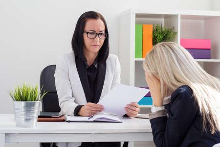 Foto de Dismissal or failed job interview concept - Imagen libre de derechos