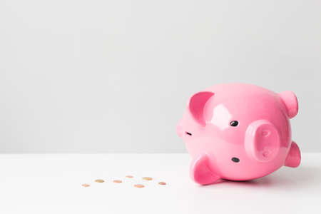 Photo pour Empty piggy bank - image libre de droit