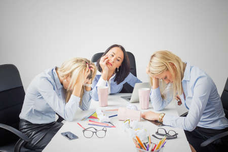 Photo for Depressed business women - Royalty Free Image